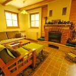 chata Hrivík - spoločenská miestnosť