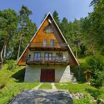chata Kanovitsová - exteriér vchod