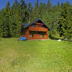 chata Kováčová - exteriér vchod