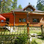 chata Vanda - exteriér vchod