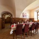 Kaštieľ Lučivná - reštaurácia jedáleň