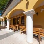 Kaštieľ Lučivná - reštaurácia terasa 2