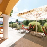 Kaštieľ Lučivná - reštaurácia terasa 1