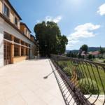 Kaštieľ Lučivná - terasa